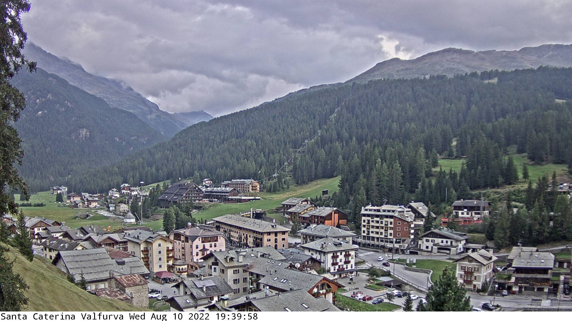 webcam paese - Santa Caterina Valfurva